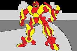 Huge Robot Transformer